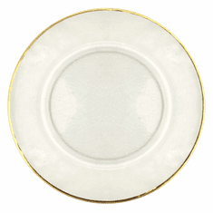 "Set/4 GILT 13"" Charger Plate"