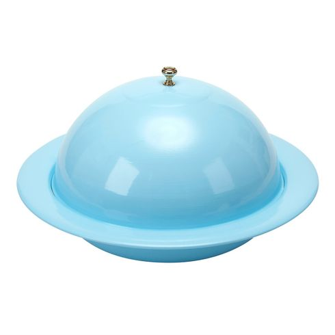 "Vento 13"" Blue Covered Bowl"