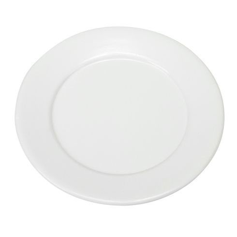 "Vento 13"" Porcelain Coated Steel Dinner Plate White"
