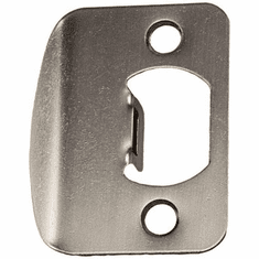 Kwikset 83796-15 Satin Nickel Full Lip Round Corner