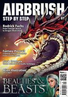 AIRBRUSH STEP BY STEP MAGAZINE ISSUE #61