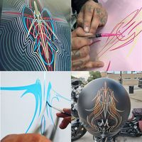 Intro to Pinstriping Workshop with Jerry Chingas - Sunday August 29th, 2pm to 5pm