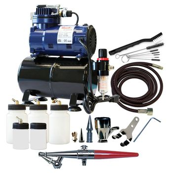 Paasche H Airbrush Set with D3000R Compressor