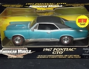 AmMuscle 36678   --      1967 Pontiac GTO  /   Hobby Edition 1 of  5000  /  1:18