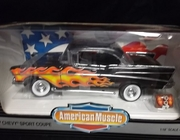 AmMuscle  7158     ---    Custom '57 Chevy Sport Coupe   1:18