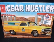 AMT 1096/12     --     'Gear Hustler'  Chevy El Camino Equipped for Construction Field Service w/Detachable Shell Top   1:25