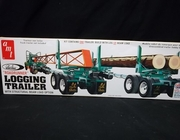 "AMT 1103      --    ""Roadrunner""  Logging Trailer with Structural Beam Load Option    1:25"
