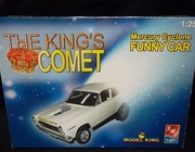 "AMT 21466    --    ""The King's Comet""   Mercury Cyclone Funny Car   1:25"
