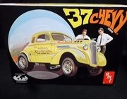 AMT 38556      --      '37 Chevy Coupe  / build it Stock, Custom or Drag  1:25