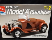 """AMT 6572     --     1929 Ford Model """"A"""" Roadster   1:25"""