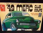 AMT T291   --   '49 Merc Club Coupe    2'n1     1:25