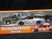 Brookfield    --      '#3 Trackside Collection'   Goodwrench/Wheaties  Monte Carlo Race Car, Suburban & Car Trailer  *Diecast