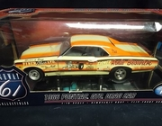 Highway61 50024     --      1966 Pontiac GTO Drag Car  w/removable body & flip-front hood    1:18