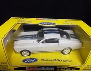 Jouef 3101    --       1965 Mustang 350 GT    1:18    (plastic on box front has scuff marks)