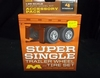 Moebius 1018       --        'Super Single' Trailer Wheel & Tire Set   includes 4 Tires with Chrome Rims    1:25
