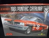 Moebius 1221    --     Joe Weatherly's  #8 1961 Pontiac Catalina   1:25
