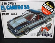 MPC 888/12    --    1986 Chevy El Camino SS w/Trail Bike   1:25
