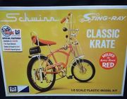"MPC 914           --     ""Classic Krate""  Schwinn Sting-Ray    1:8  (molded in Apple Krate, Lemon Peeler & Orange Krate - choose your color)"
