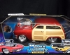 MuscleM 61184    --    '50 Ford Woody    -  red   1:18