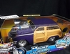 MuscleM.  71165   --    '50 Ford Woody  - purple   1:18