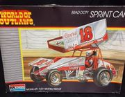 Monogram 2752      --    Brad Doty  #18 Sprint Car   1:24