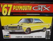 Revell 4481      --     '67 Plymouth GTX  1:25