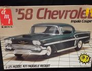 AMT 6548     --     '58 Chevy Impala Coupe 3'n1   1:25