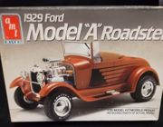 "AMT 6572    --    1929 Ford Model ""A"" Roadster   1:25"