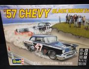 Revell 4441     --     '57 Chevy 'Black Widow'   2'n1   1:25