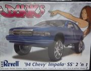 Revell 2056    --  Donks   '94 Chevy Impala SS 2'n1   1:25