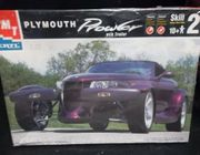 AMT 8588    --     Plymouth Prowler w/trailer   1:25