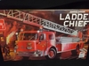 """AMT 1204     --      """"Ladder Chief""""  American LaFrance Rear Mounted Aerial Ladder Truck    1:25"""