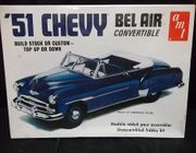 AMT 608      --     '51 Chevy Bel Air Convertible    /   Stock or Custom / Top Up or Down   1:25