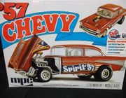 MPC 904/12     --    ''Spirit of '57'    1957 Chevy Flipnose    1:25