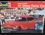 Revell 7172      --        World's Fastest '57 Chevy Funny Car   1:24