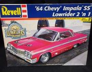 Revell 2574     --     '64 Chevy Impala SS Lowrider 2'n1   1:25