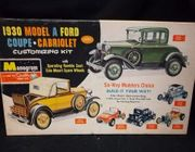 "Monogram PC71     --    1930 Model ""A"" Ford  Coupe/Cabriolet   1:24"