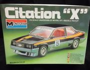 "Monogram 2288     --    Citation ""X""   1:24"