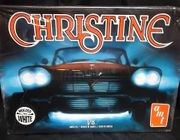 """AMT 840/12       --      """"Christine""""  1958 Plymouth  1:25  (molded in White)"""