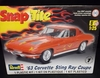 Revell 1968    --   '63 Corvette Sting Ray Coupe   /   SnapTite   1:25