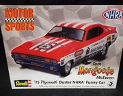 "Revell 4289     --     Tom ""Mongoose"" McEwen's 1975 Plymouth Duster NHRA Funny Car   1:25"