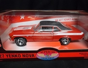 SuperCarC.29119    --    427 Yenko Nova  /  Nova Supercar Collection #1   1:18