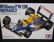 Tamiya 20025     --     Williams FW 13B Renault    **1:20  (parts off tree)