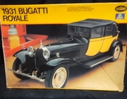 Testors 832    --     1931 Bugatti Royale    1:24  (box a little rough)