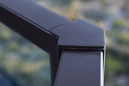 Featuring our thinnest top rail for minimum view obstruction