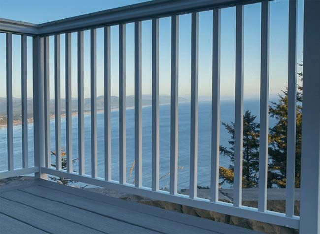 Glass Deck Railing Picket Systems