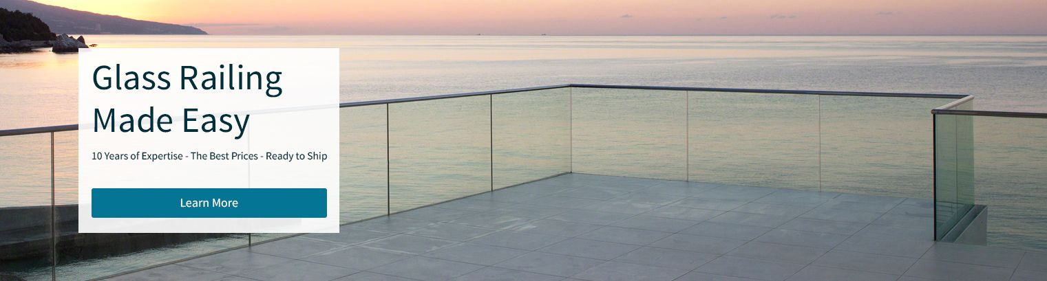 Glass Railing for Decks - eGlassRailing