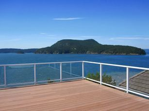safe, affordable glass deck railing