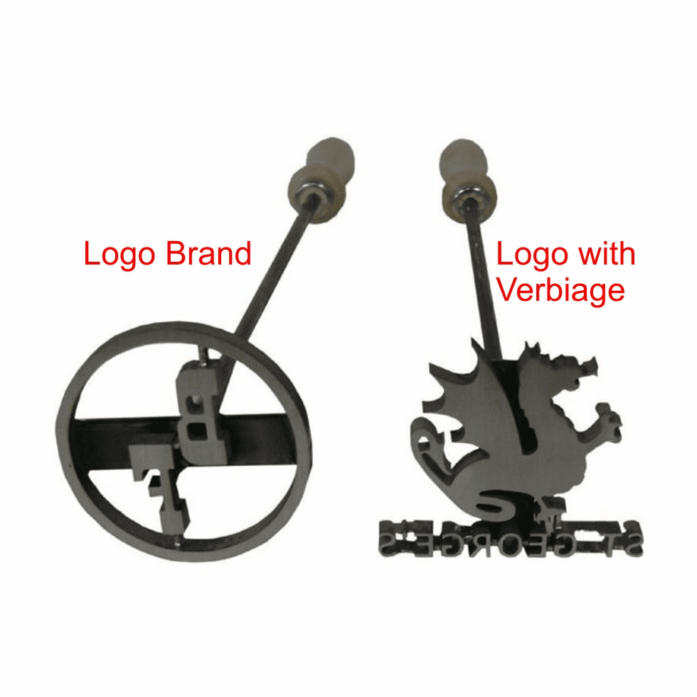 Flame Heated BBQ Irons