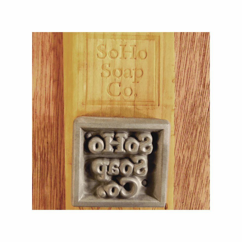 Wood Stamp 3 Inch